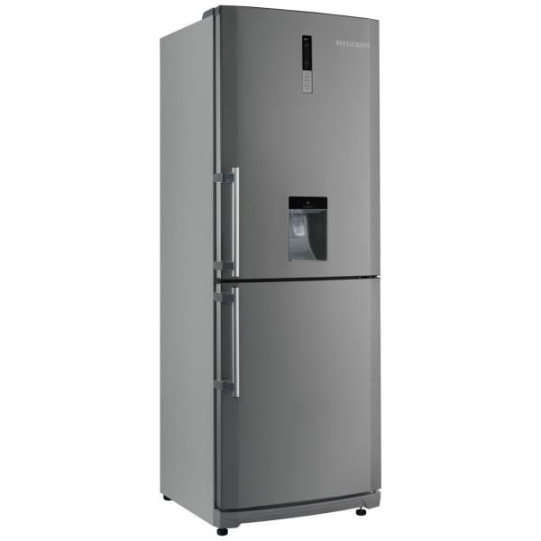 یخچال کمبی عرض 85 سیلور(فریزر بالا- آبریز برقی- یخساز اتومات)
