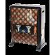 بخاری گازی هیتا شعله طرح شومینه ای گرافیکی پودری مدل برلیان HTA 900 TV