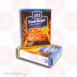 استیک برگر 95 %  گوشت 202