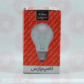 لامپ معمولی 100 پارس شهاب