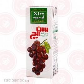 آب انگور قرمز 200 سیسی سن ایچ