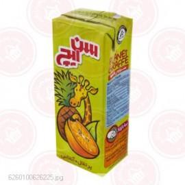 آبمیوه پرتقال آناناس 200 سیسی سن ایچ