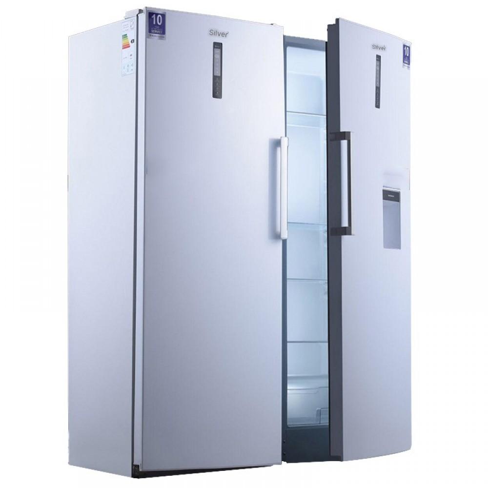 یخچال نوفراست عرض 65 سیلور
