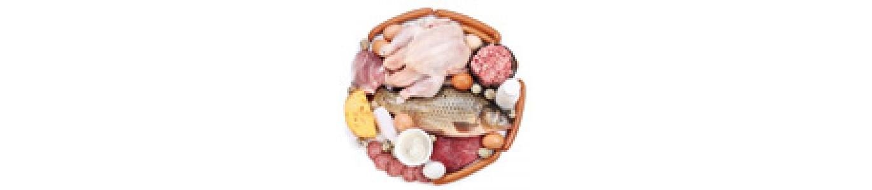 گوشت، مرغ و ماهی